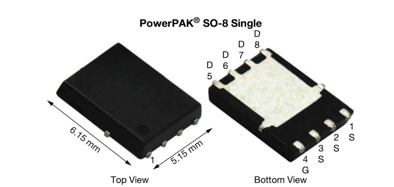 オン抵抗が1.7mΩの−30V耐圧MOSFET PowerPAK SO-8パッケージに封止した。Vishay Intertechnologyのイメージ