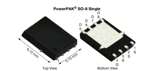 オン抵抗が1.7mΩの−30V耐圧MOSFET