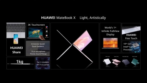 HUAWEI MateBook Xの新モデル