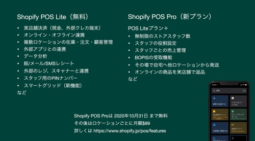 Shopify POSを日本で本格展開