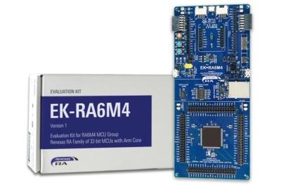 評価キットの「EK-RA6M4」