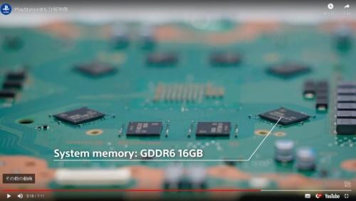 メインプロセッサーが実装されている面の裏側にGDDR6対応のメモリーを実装