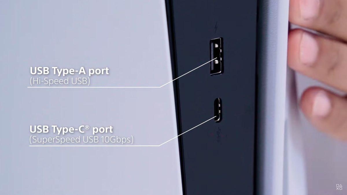 USB Type-Cコネクターも搭載 (出所:SIE公式の分解動画)