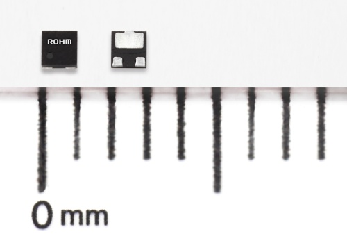 実装面積が1.0mm×1.0mmと小さい車載機器向けMOSFET