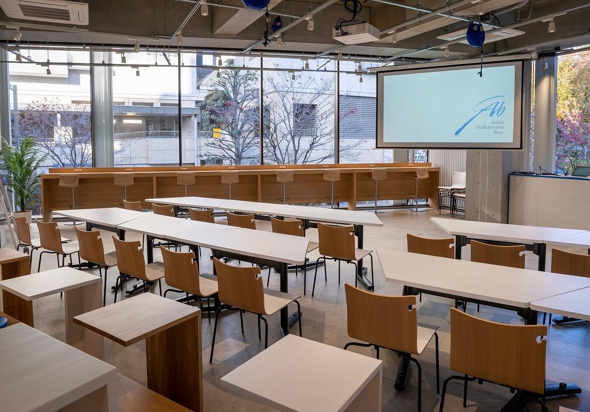 東京・代官山に開設した日本マイクロソフト直営の「Azure Base」 (出所:日本マイクロソフト)
