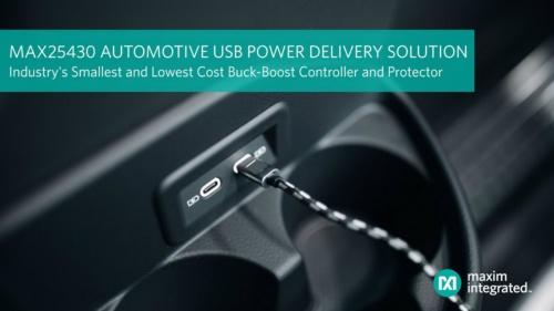 車載USB PD端子を介した電力供給(充電)に向けた電源制御ICの応用例