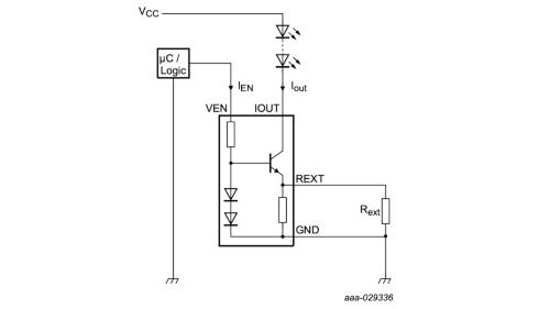 新製品を使って構成した調光機能付きLEDドライバー回路