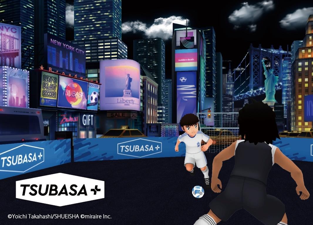 「TSUBASA+(ツバサ プラス)」のゲームイメージ (出所:MIRAIRE)