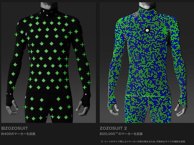 【EC】ZOZOが「ZOZOSUIT 2」を発表、全身採寸にリベンジ