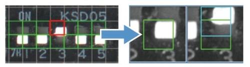 図2:「NG」を検出したメッシュの比較画像