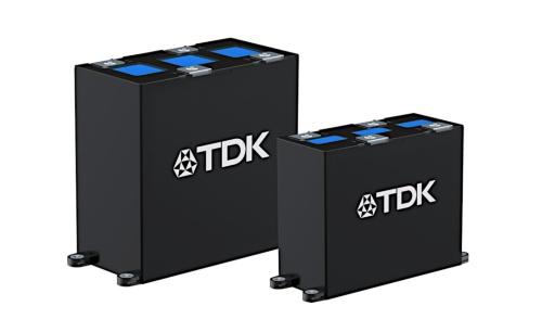 大型インバーターのDCリンクに向けた電力用フィルムコンデンサー
