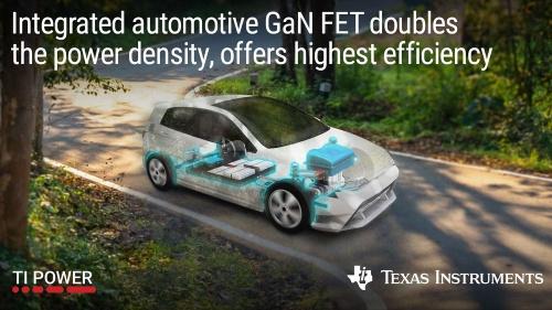 GaN FETやゲートドライバー、保護回路などを1チップに集積した車載用電源ICの応用例