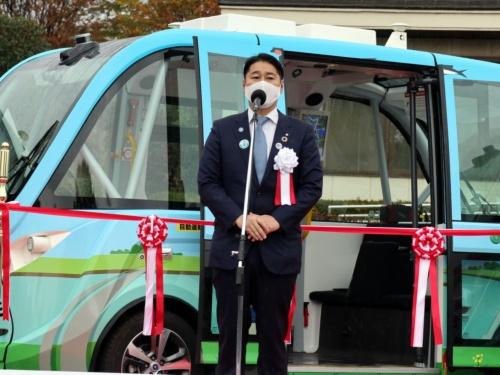 茨城県境町の橋本正裕町長