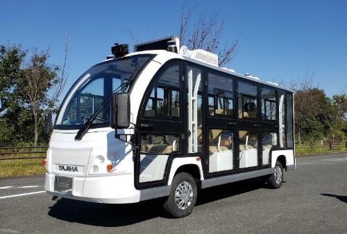 東急が伊豆急行伊豆高原駅周辺で走らせる自動運転バス