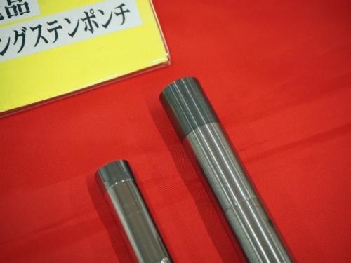 図1 超硬合金のレーザー肉盛りで補修した金型部品