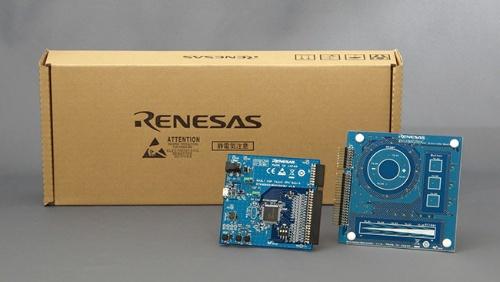 「RA2L1搭載静電容量タッチ評価システム」(製品番号:RTK0EG0022S01001BJ)