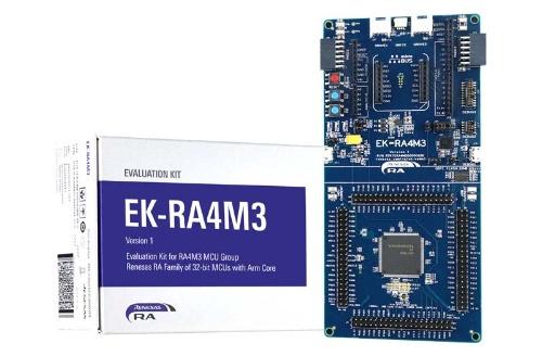 評価キットの「EK-RA4M3」