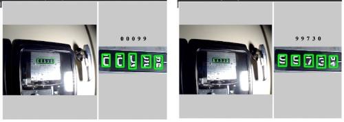 図1:AIによる回転式アナログメーターの読み取り例