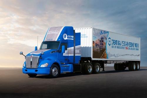 第2世代FCシステムを搭載した新型FC大型トラック