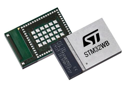 今回の新製品「STM32WB5MMG」