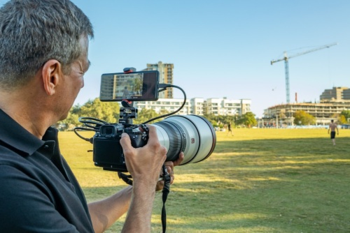 ターゲットには報道カメラマンや映像クリエイターなどを想定した