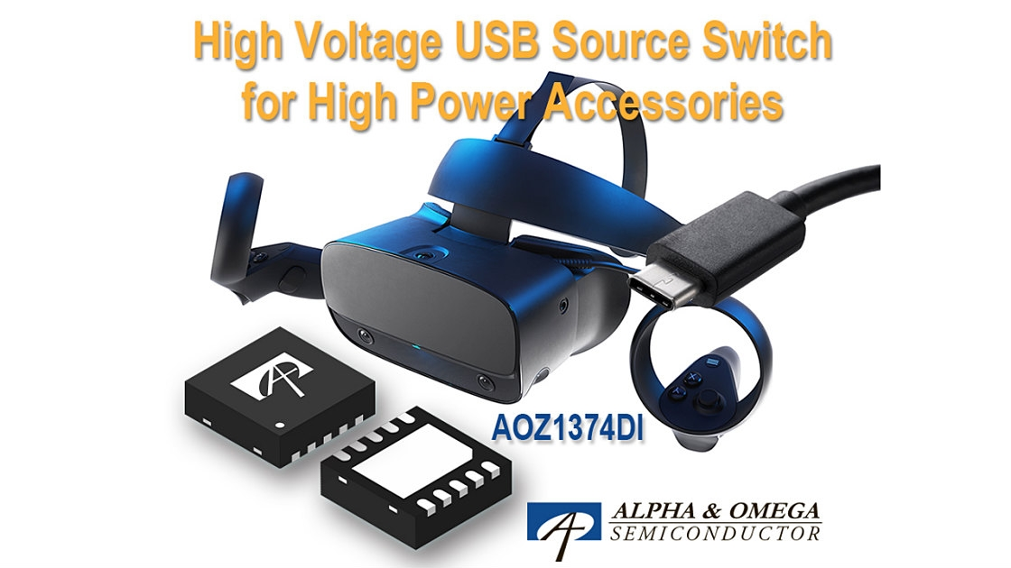 USB Type-C PD端子搭載機器の電源回路の保護スイッチIC (出所:Alpha & Omega Semiconductor)