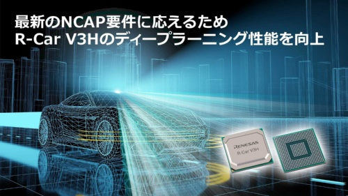 「R-Car V3H」を高性能化
