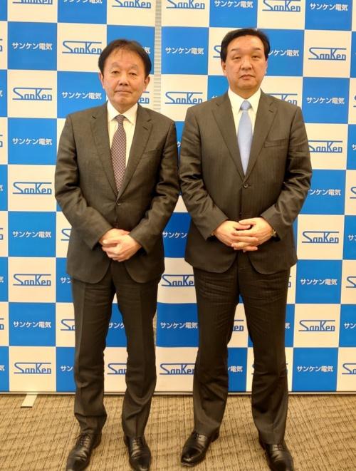 会見に臨む和田氏と高橋氏