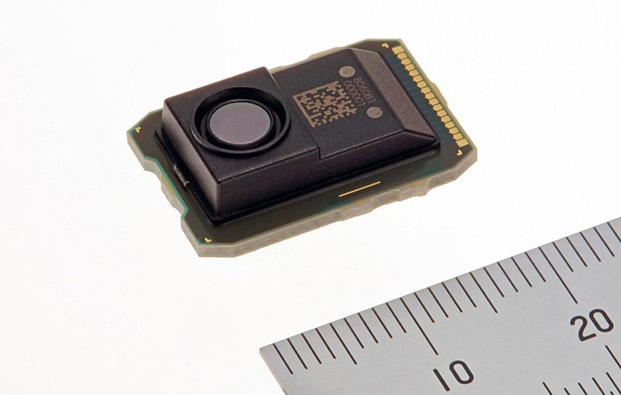 検知範囲を2~4倍に広げた赤外線センサーモジュール (出所:三菱電機)