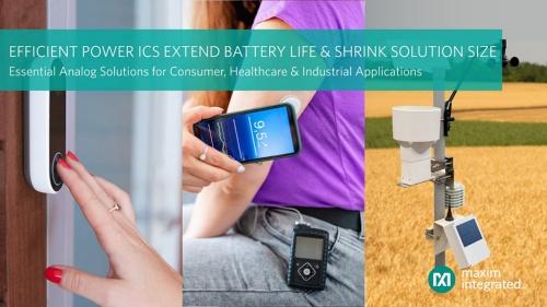 バッテリー駆動時間を延ばせる3つの電源ICの応用例