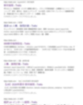 非公開設定になった情報も検索サイトの結果に表示される。画像は編集部で加工済み