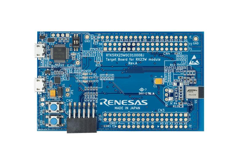 評価用ターゲットボード「RTK5RX23W0C01000BJ」