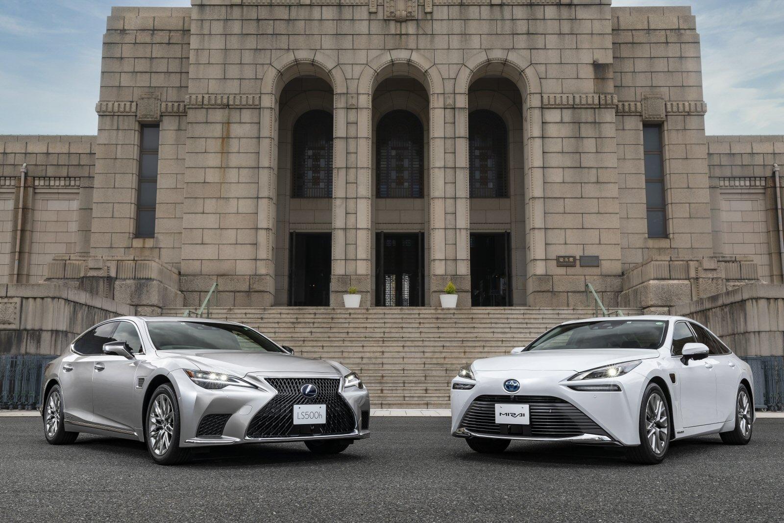 レクサスLSとMIRAIにAdvanced Drive搭載車を設定 (出所:トヨタ)