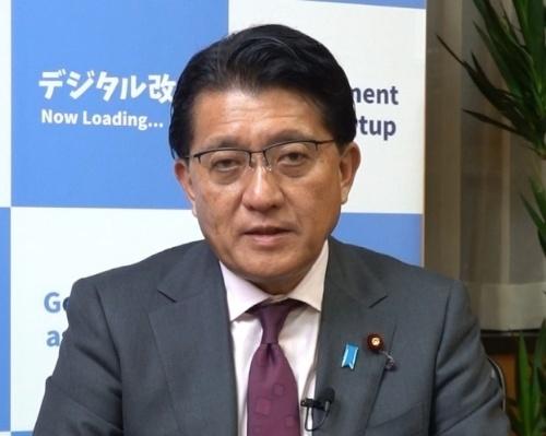 日本IBMのオンラインイベント「The DX Forum」にメッセージを寄せた平井卓也デジタル改革相