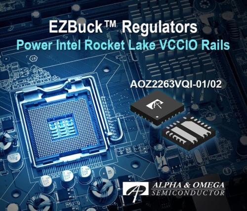 IntelのRocket Lake-S向け降圧型DC-DCコンバーターIC