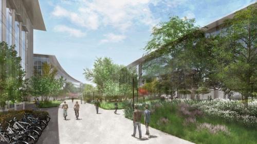 テキサス州オースティンの新キャンパスのイメージ