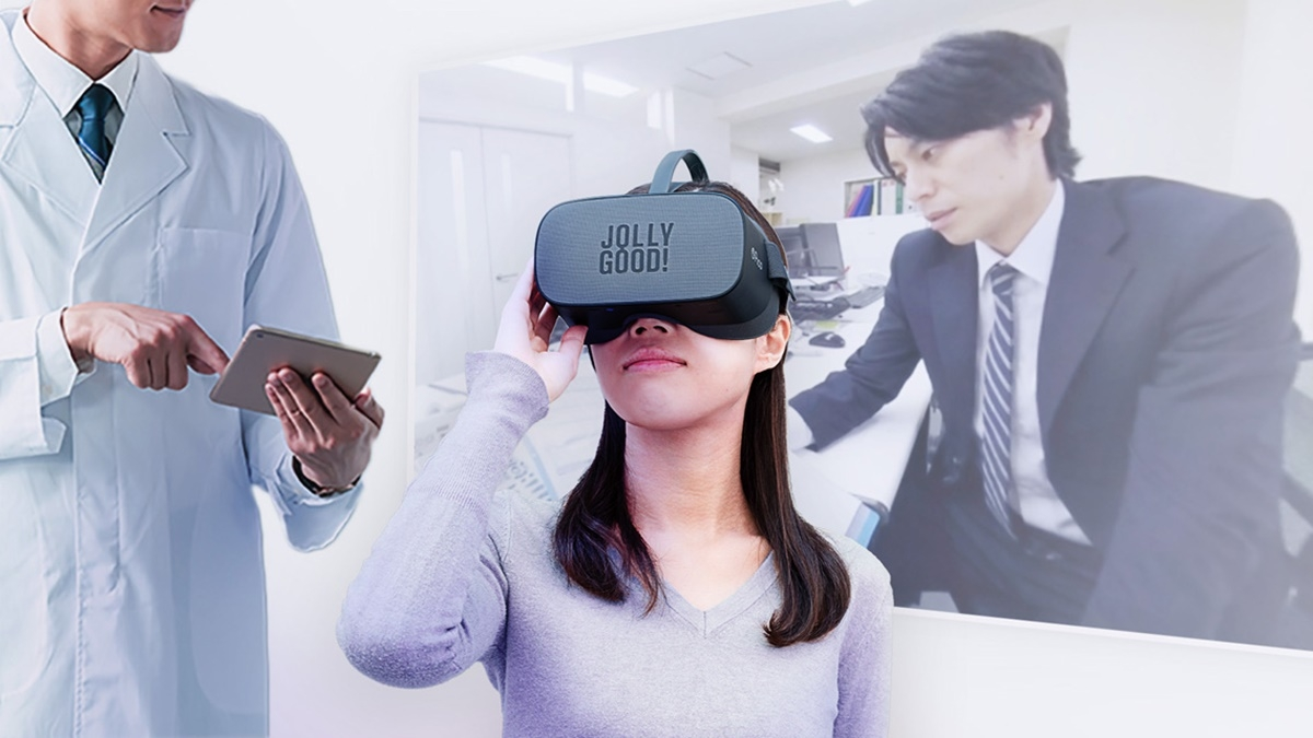 VRを活用したDTxのイメージ (出所:ジョリーグッド)