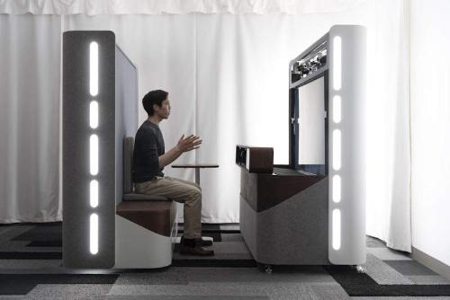 「Project Starline」で利用する実験装置