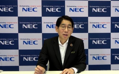 森田隆之社長兼CEO(最高経営責任者)