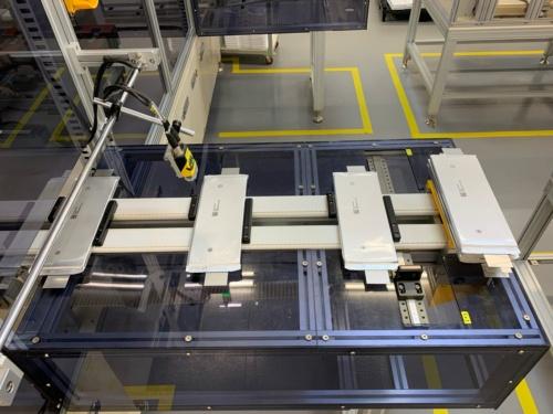 SKIの既存の工場で生産中の電池セル