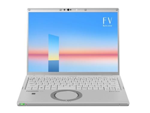 レッツノートの新ラインアップ「FV1シリーズ」。14型液晶だが、横幅は「一般的な13.3型パソコンとほぼ同等サイズ」(パナソニック)とする
