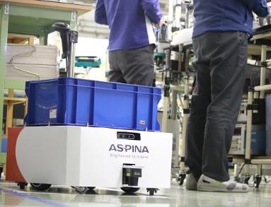 図2:ASPINA AMRの使用例