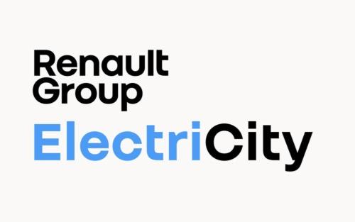 新会社Renault ElectriCityのロゴ