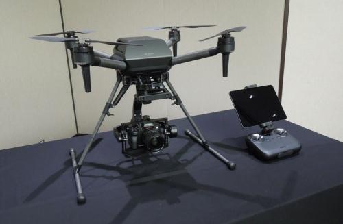 ソニーグループが2021年6月10日に発売した空撮ドローン「Airpeak S1」。