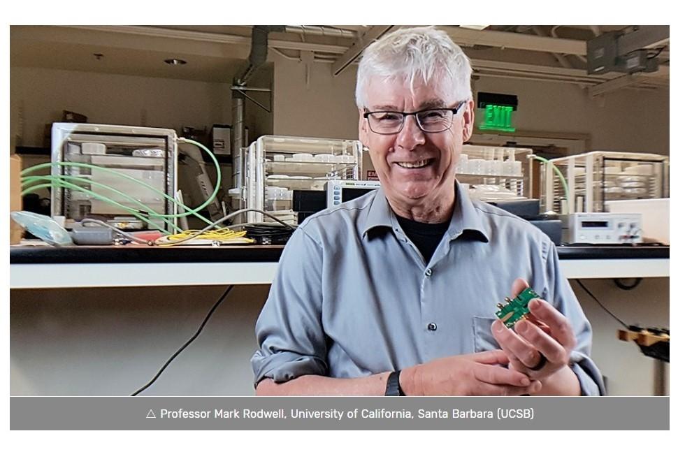 カリフォルニア大学サンタバーバラ校(UCSB)のMark Rodwell教授 出所:Samsung