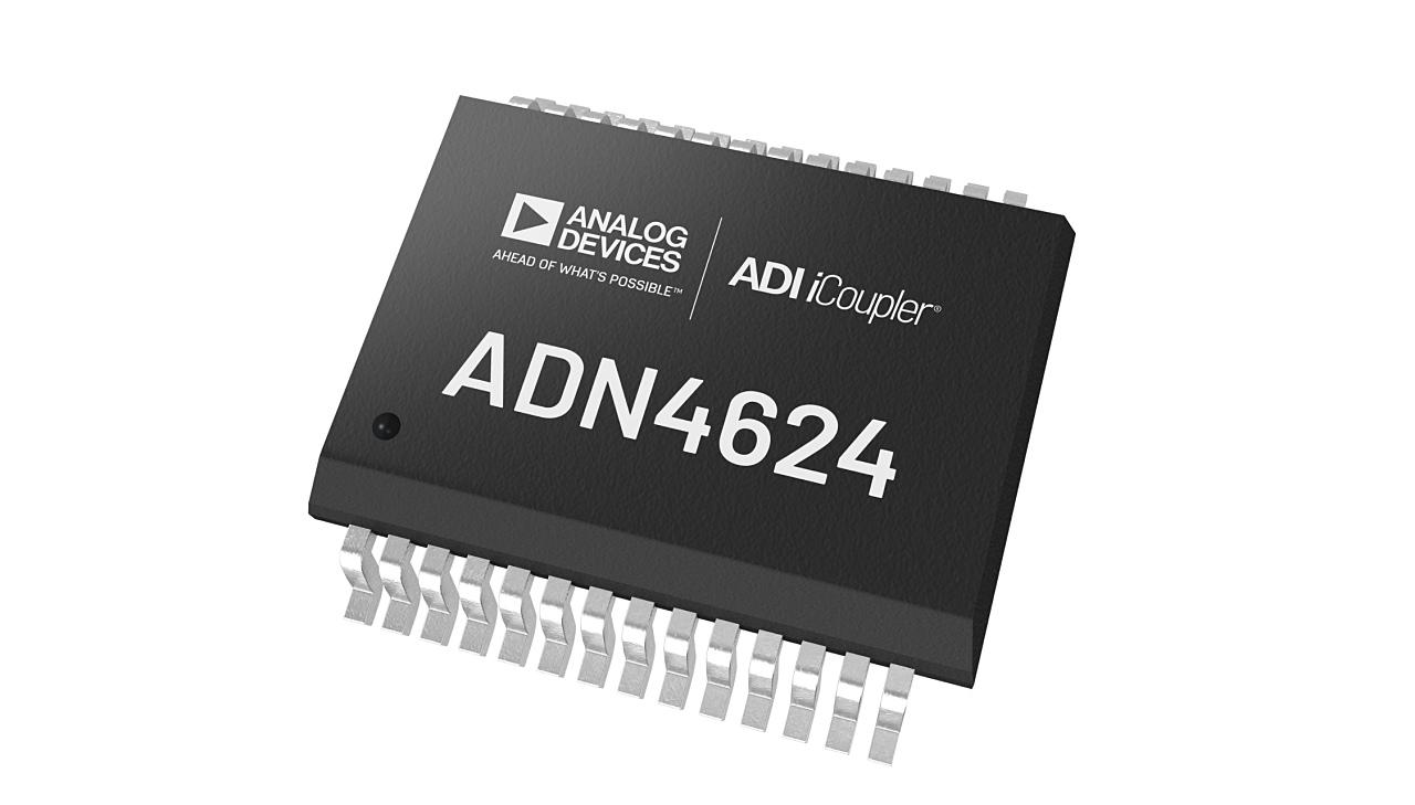 最大データ伝送速度が10Gビット/秒と高いデジタルアイソレーターIC (出所:Analog Devices)