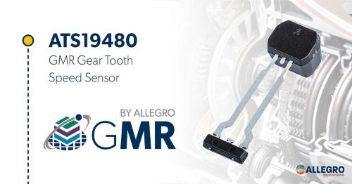 GMR方式を採用したギア歯速度センサーIC