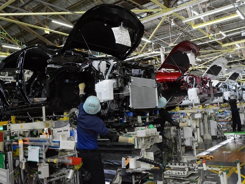 トヨタ自動車の高岡工場