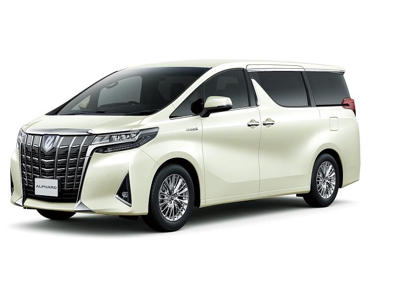 図 トヨタ車体の富士松工場で生産する「アルファード」  (出所:トヨタ自動車)