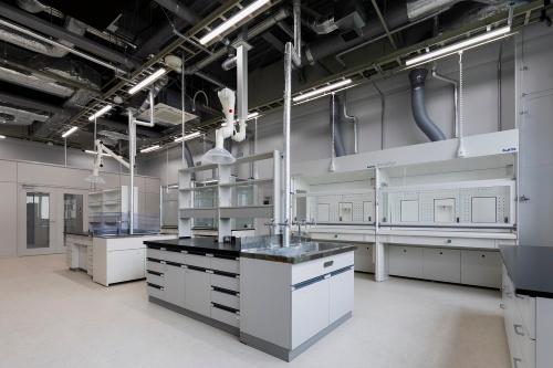 実験室の一部